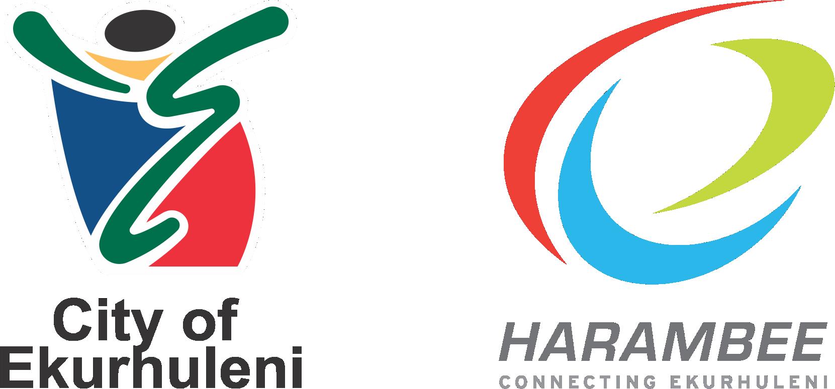 Ekuruhleni and Harambee logos