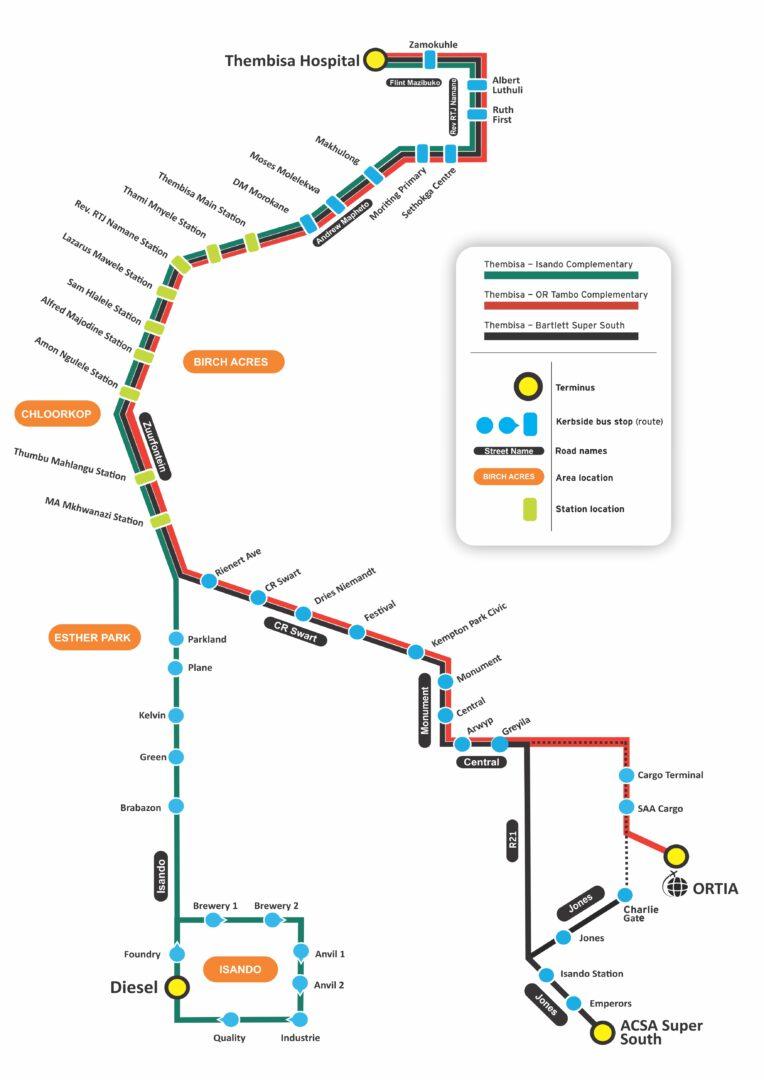 Harambee map-2021